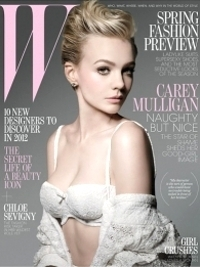Carey Mulligan Covers W Magazine January 2012