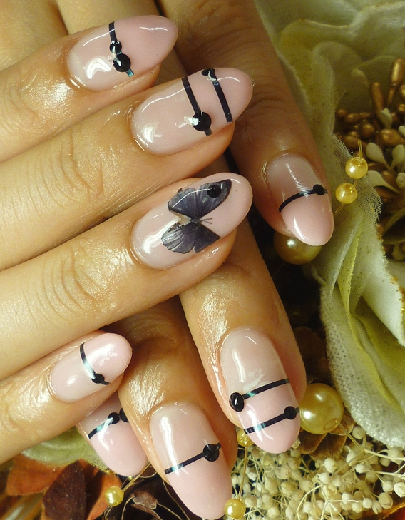 On trend nail art designs 2012 lovely nail art prinsesfo Image collections