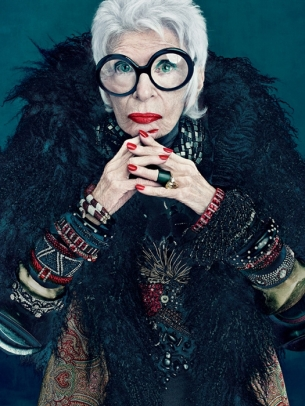 MAC and Iris Apfel 2012