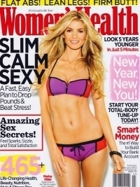Marisa Miller Talks Diet and Relationship with Women's Health January/February 2012