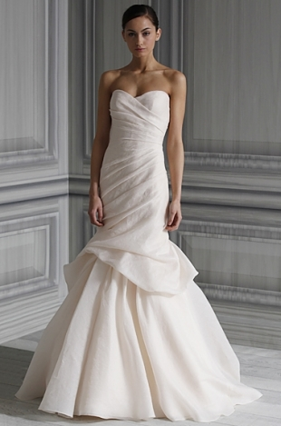 Monique Lhuillier Spring 2012 Bridal Collection