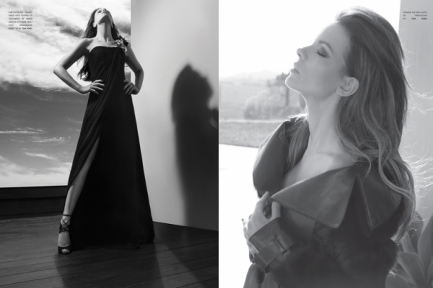 Kate Beckinsale Covers Flaunt Magazine