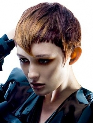 Cropped Bangs Hairstyle 2012
