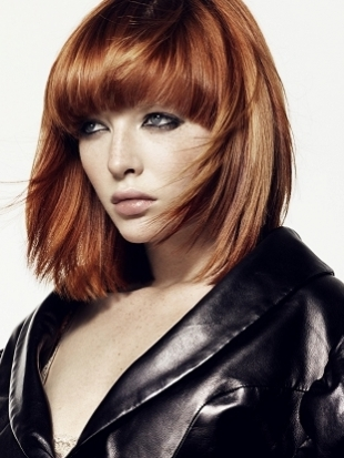 Rounded Bangs 2012 Hair Trends