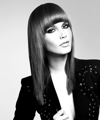 Fringe Hairstyle on Bangs  Fringe Hairstyle Trends 2012