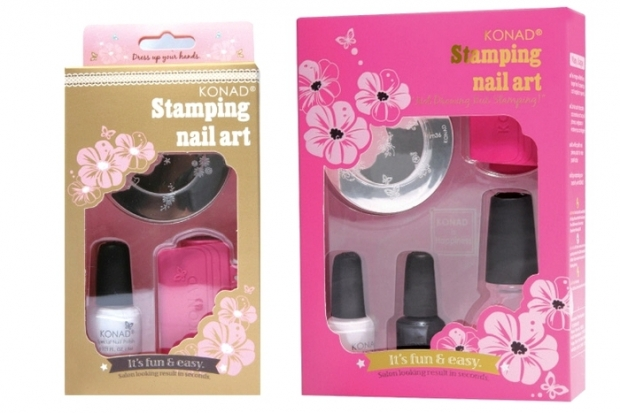 Konad Stamping Nail Art Basic Kit