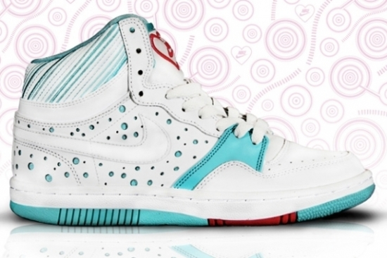 Nike Court Force High for Valentines Day 2011