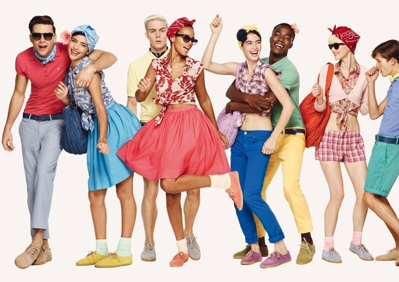 United colors of benetton spring 2011 lookbook Different fashion style groups