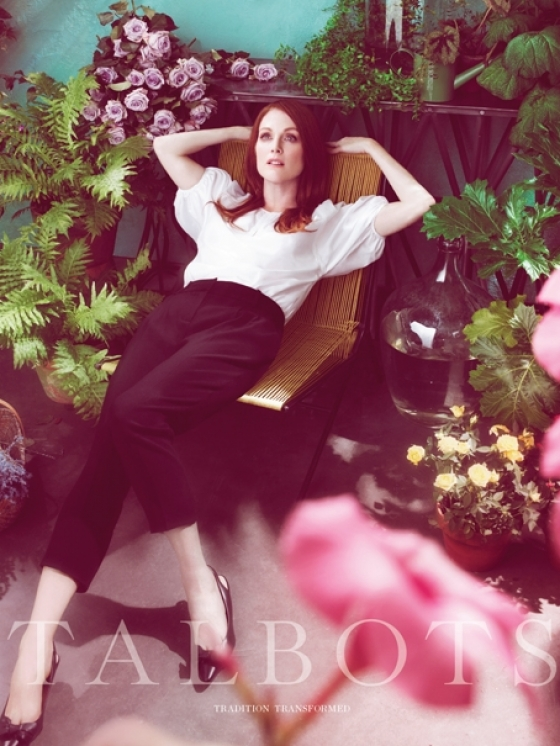 Julianne Moore for Talbots Spring/Summer 2011 Campaign