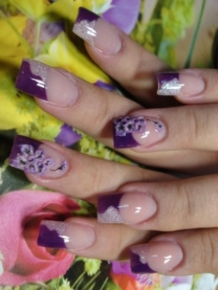 Fabulous nail art designs a colored french tip manicure can be a fabulous solution for any type of event as this type of nail art combines simplicity with sophistication prinsesfo Image collections