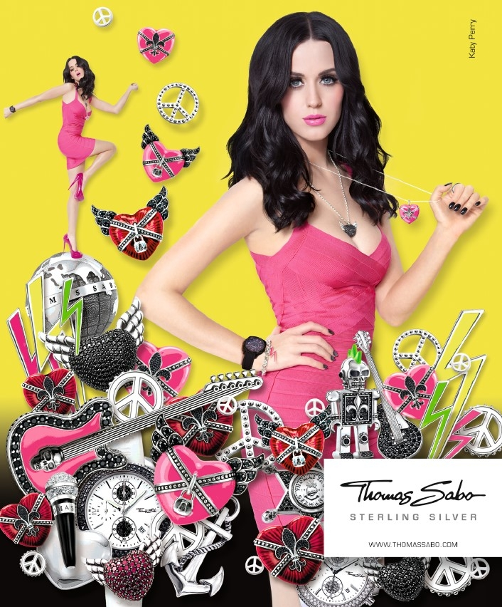 Katy Perry New Face Of Thomas Sabo Jewelry