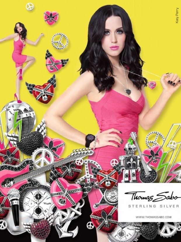 Katy Perry Becomes the Face of Thomas Sabo