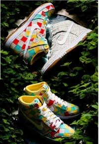 New Nike Dunk High Skinny Shoes Spring 2011