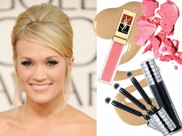 carrie underwood natural hair color. Carrie Underwood is a definite