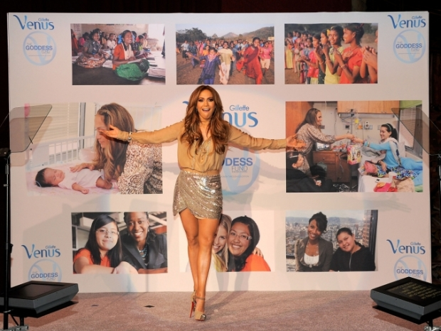 Jennifer Lopez is Global Ambassador for Gillette Venus