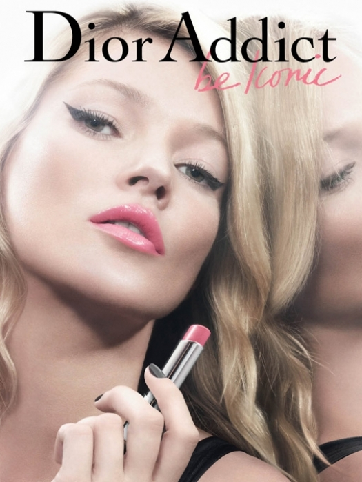 Kate Moss NEw Face of Dior Addict Beaute