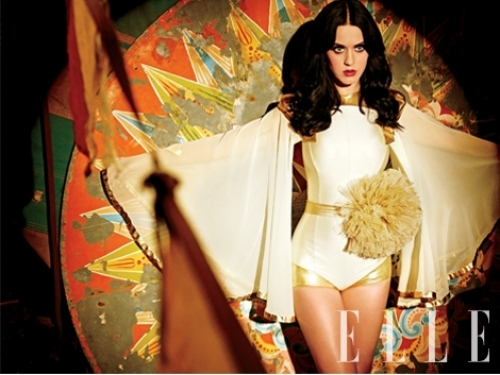 Katy Perry for Elle Us 2011 March