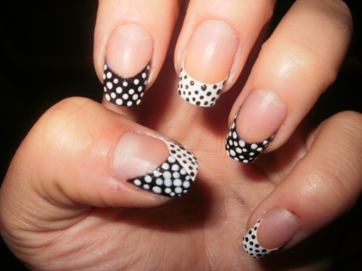 ... by sporting the trendy nail designs both on your nails and toenails