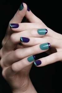 Trendy Simple Nail Art Designs 2011