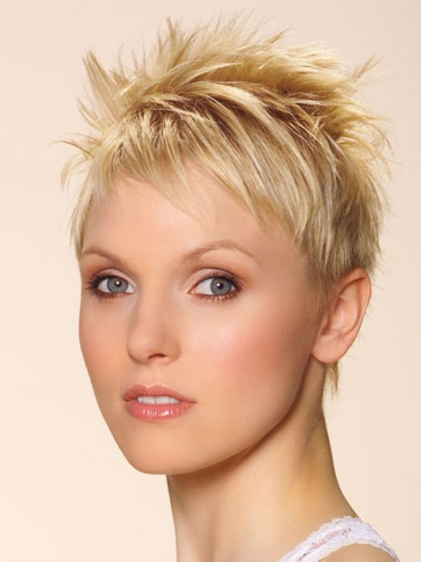 Styling Short Hair : Rock-Chic Short Hair Styles 2011