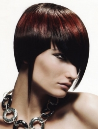 Rock-Chic Short Hair Styles 2011