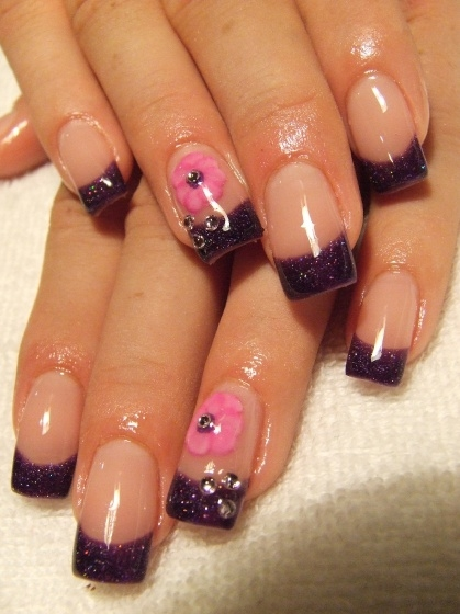 Colorful French Nail Art Designs 2011  Makeup Tips and Fashion