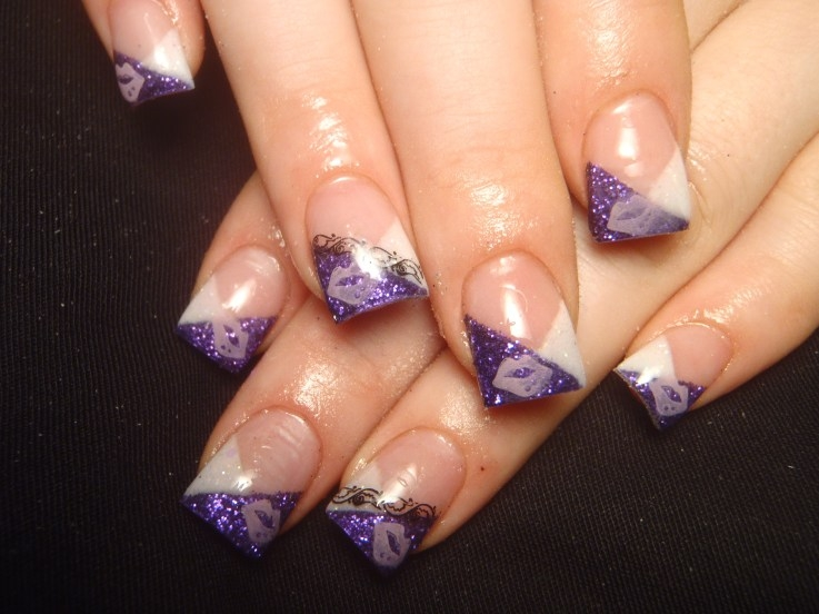 Acrylic Nail French Nail Designs