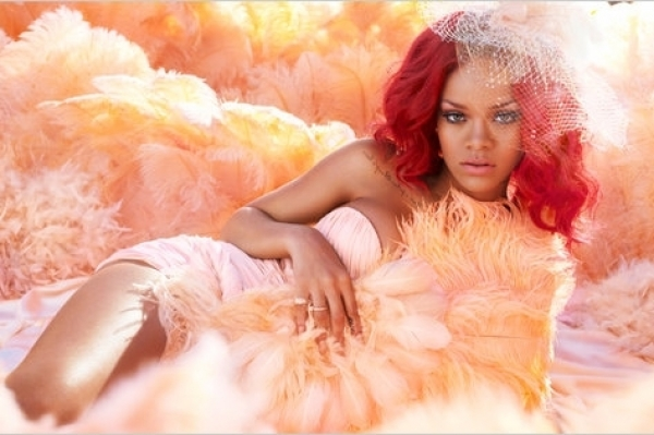 Rihanna Perfume Ad Pictures