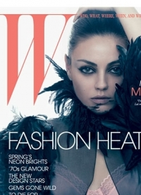 Mila Kunis for 'W' Magazine March 2011