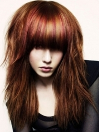 Stylish Bangs Hairstyle Ideas 2011