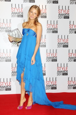 Blake Lively at 2011 Elle Style Awards