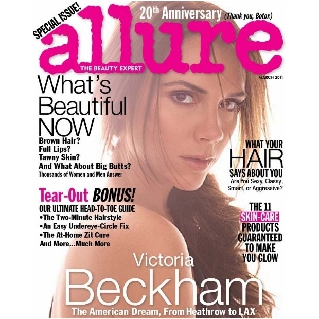 Victoria Beckham Covers Allure March 2011