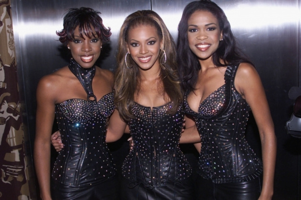 Beyonce Skin Color in 2000
