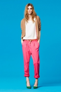 Zara TRF New Color Pants Lookbook 2011
