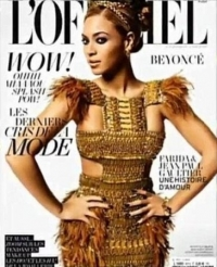 Beyonce Covers L'Officiel Magazine March 2011