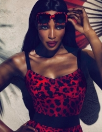 Naomi Campbell for Dolce & Gabbana Eyewear Collection