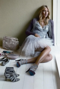 Maria Sharapova for Cole Haan Spring/Summer 2011