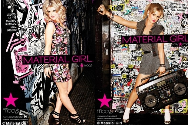 Kelly Osbourne Material Girl Spring 2011 Ad Campaign