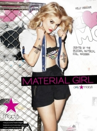 Kelly Osbourne's Material Girl Spring 2011 Ad Campaign