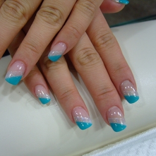 art turquoise nails nails design