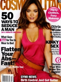 Olivia Wilde Covers Cosmopolitan April 2011