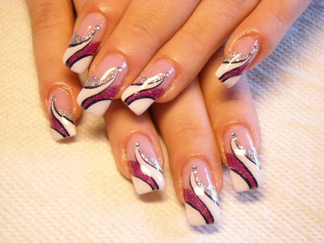 Nail Art Ideas: Simple And Cool Nail Art Ideas 2011