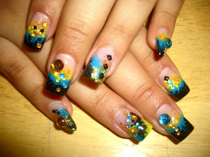 Example for nails art design 2015