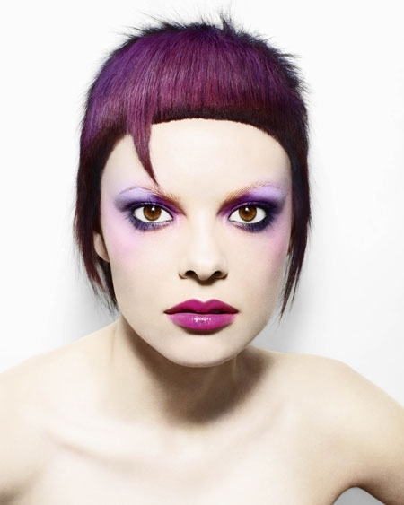 The idea of alternative hair color 2011