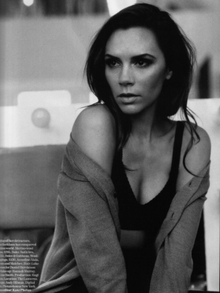 Victoria Beckham Covers Vogue UK February 2011