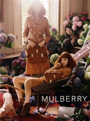 Lindsey Wixson Mulberry Spring 2011 Campaign