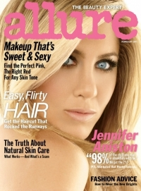 Jennifer Aniston Covers Allure February 2011 Issue