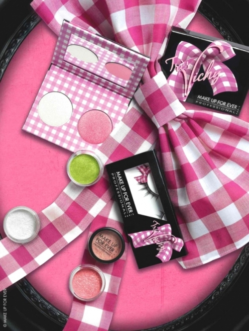 Make Up For Ever Tres Vichy Spring 2011 Makeup