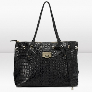 Rhea L Jimmy Choo Tote Bag