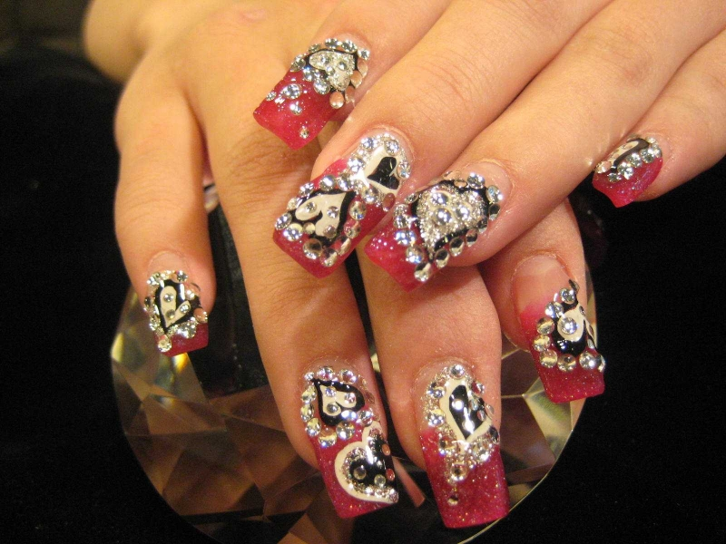 cute nail designs for valentines day. Valentine's Day Nail Designs